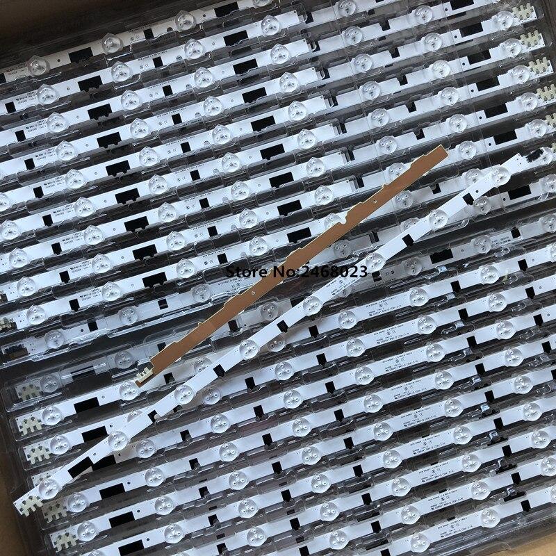 New100% 14 Pieces(7R+7L) UA40F5000ARXXR UA40F6300AJXXR LED strip for SAM SUNG 2013SVS40F L8 L5 D2GE 400SCA R3 D2GE 400SCB R3-in LED Bar Lights from Lights & Lighting