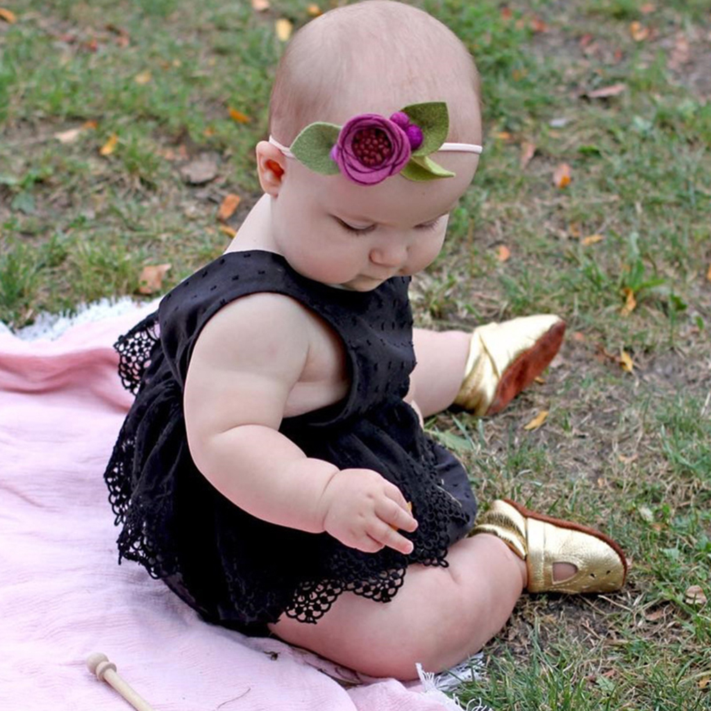 942a74afdc0 2018 New Cute Newborn Baby Girl Romper Clothes White Lace Playsuit Jumpsuit  Outfit Summer Bebes Sunsuit 0 24M-in Bodysuits from Mother   Kids on ...