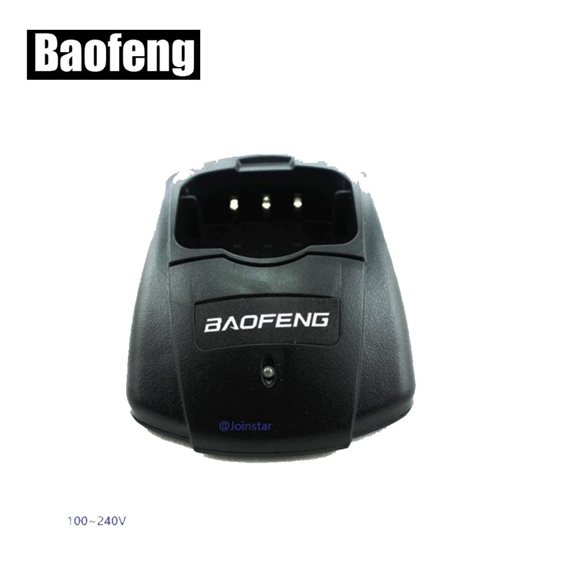 Original Desktop Charger Base For BAOFENG Walkie Talkie UV-B5 UV-B6