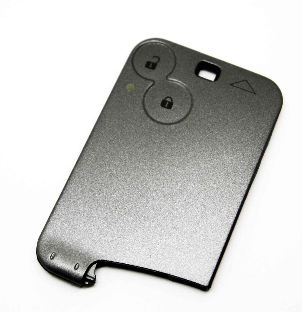 Replacement For Renault Laguna Espace 2 Button Key Card Case