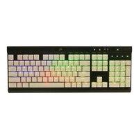 התאורה האחורית שחור לבן 104 מפתח PBT הזוגי נורה התאורה האחורית keycaps במשך keycap מכירה מקלדת Corsair לבזוק K65 K70 Logitech G710 + המכנה (2)