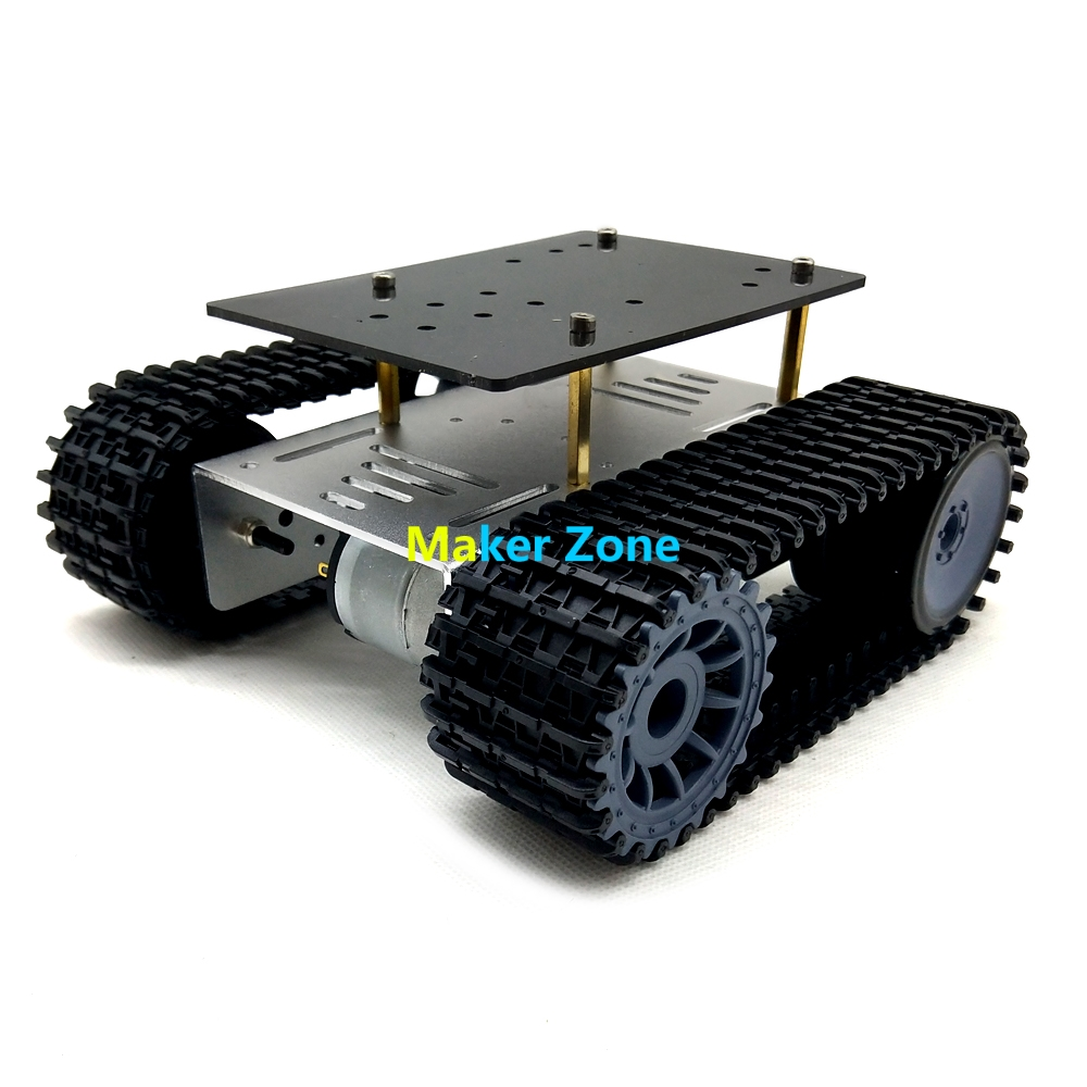 Metall Roboter 4wd Auto Chassis C101 Mit Vier Tt Motor Rad Für Arduino Uno R3 Diy Maker Eduational Teaching Kit Sammeln & Seltenes Fernbedienung Spielzeug
