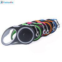New Brand Pet Retractable Leash Walking Reflective Lead 3M 5M Medium And Large Dog Pet Automatic