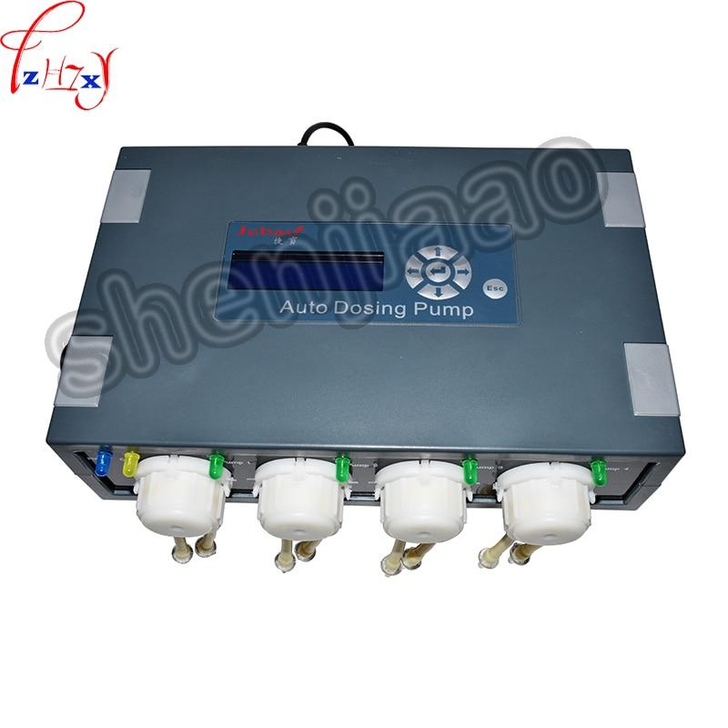 цена на New Auto Dosing Pump JEBAO DP-4 for coral reef aquarium 4 pump head For Marine Aqua 110-240V, 50/60Hz
