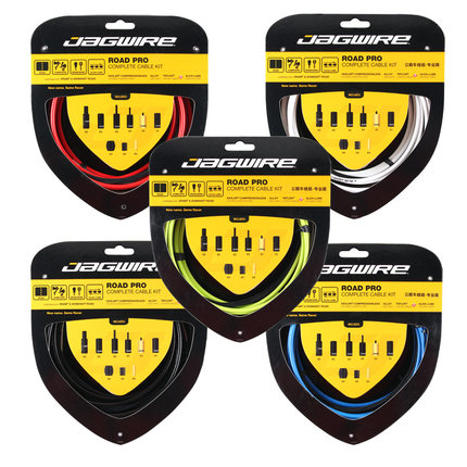 Kit de câbles complets JAGWIRE RACER ROAD PRO L3 Road Pro 10 couleurs