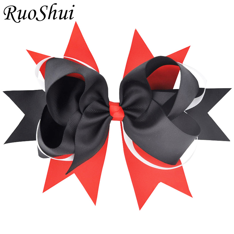Newest 1pc 8 Inch Handmade 3colors Patchwork Ribbon Hairpins Hair Clips Headwear Barrette Bowknot For Women Girls Accessories 2017 plum pearls hair clips lady headwear girls new design branches hair accessories women hairpins alloy elastic barrette hot