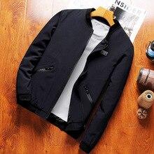 8XL 7XL 6XL Plus Size Men's Jacket Coat Fashion Windbreaker Men Jackets waterproof Casual Jacket Men Outerdoor bust 144cm