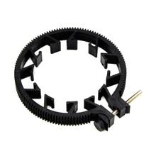 OOTDTY ABS пластиковое регулируемое зубчатое кольцо для непрерывного изменения фокусировки пояса 65~ 75 мм для DSLR объектива Mod 0,8