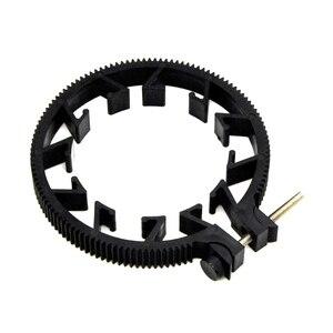 Image 1 - Ootdty abs plástico ajustável anel de engrenagem para follow focus belt 65 75 75mm para lente dslr mod 0.8