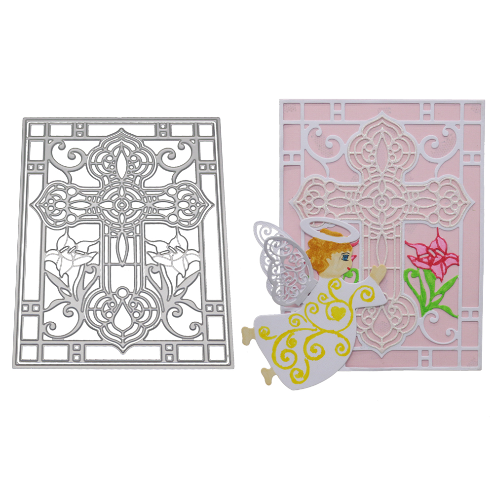 DIY Cross Metal Cutting Dies Card Scrap Booking Card Embossing Album Decor