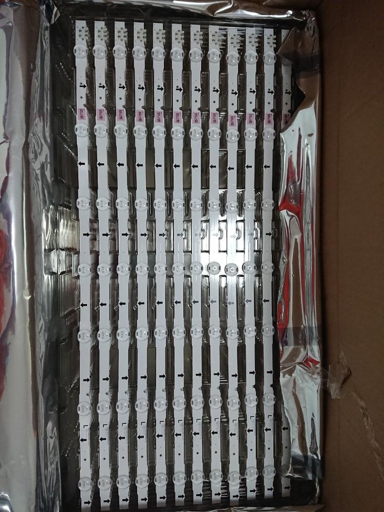 New Original 5set=15 PCS 7LED 65CM LED Backlight Strip For Samsung UE32H4000 D4GE-320DC0-R3 2014SVS32HD BN96-35208A 30448A 30445
