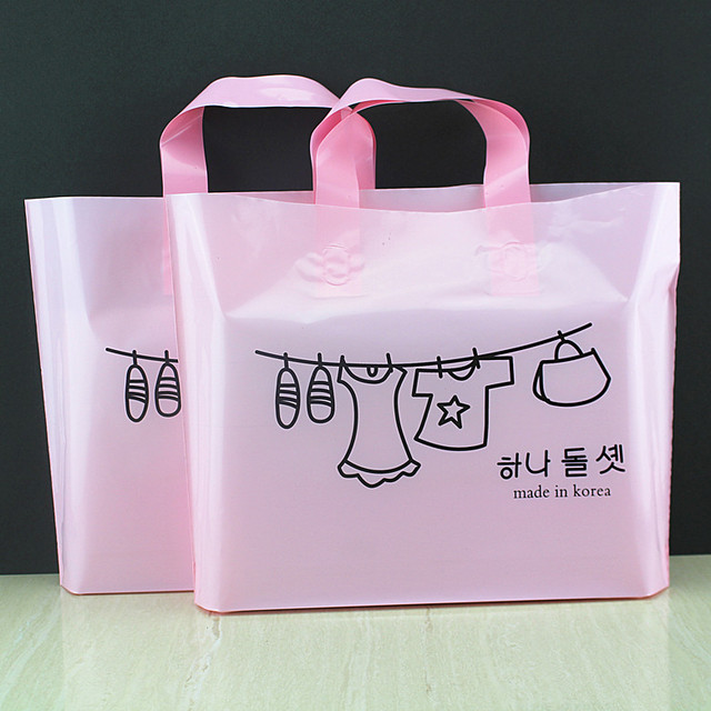 Aliexpress.com : Buy Hot Sale Clothes Large Plastic Gift Bags with ...