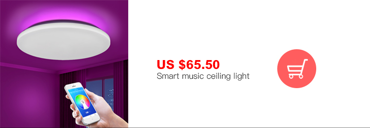 HTB1Z3pBe8Cw3KVjSZFlq6AJkFXay Modern LED ceiling Lights home lighting 25W 36W 52W APP Bluetooth Music light bedroom lamps Smart ceiling lamp