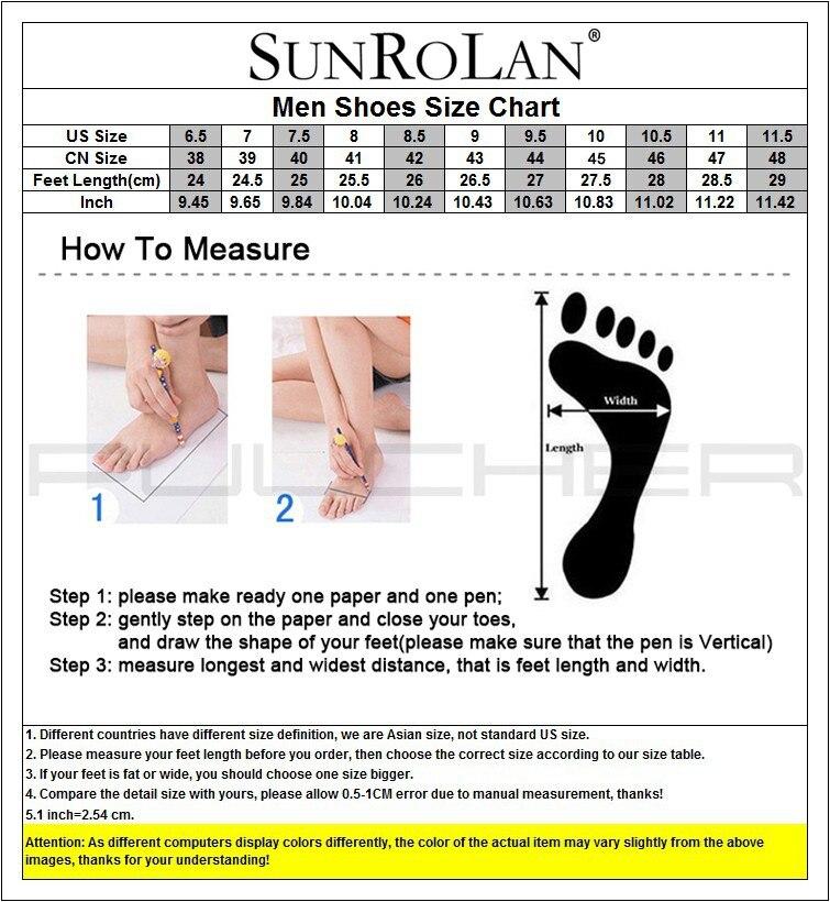 sunrolan men size chart