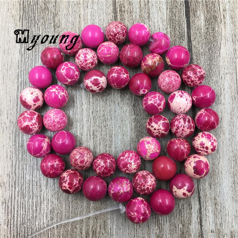 8mm Sea Sediment pink Imperial Jasper Gemstone red flat square Loose Beads 50pcs