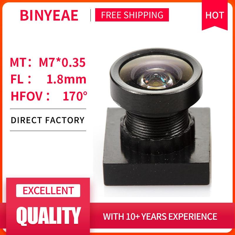BINYEAE HD 2MP Mini Lens 1.8mm M7 Pinhole Lens F2.0 1/4