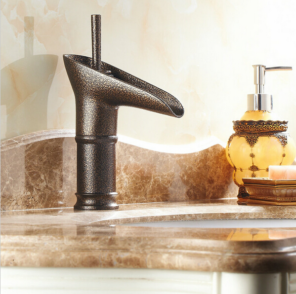 Free Shipping New Style Open Spout Water Tap Bathroom