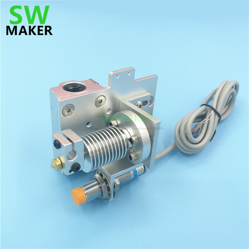 Reprap prusa i3 V6 Bowden X carriage mount hotend kit with Inductive Proximity Sensor V6 bowden