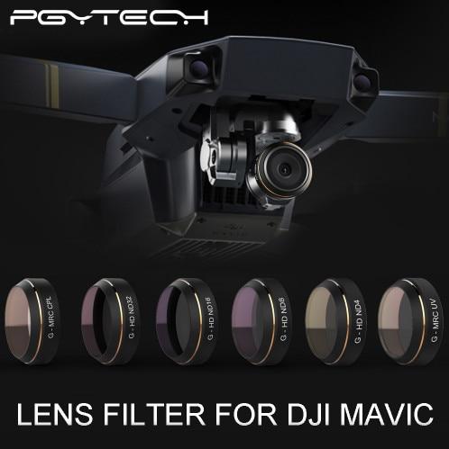 PGYTECH-lensfilters G-UV ND4 8 16 32 CPL HD-filter gimbal - Camera en foto
