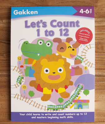 free shipping gakken 2 6 years kindergarten workbook english original large format color sticker of the maze line exercise book in learning education from - Color Books For Kindergarten