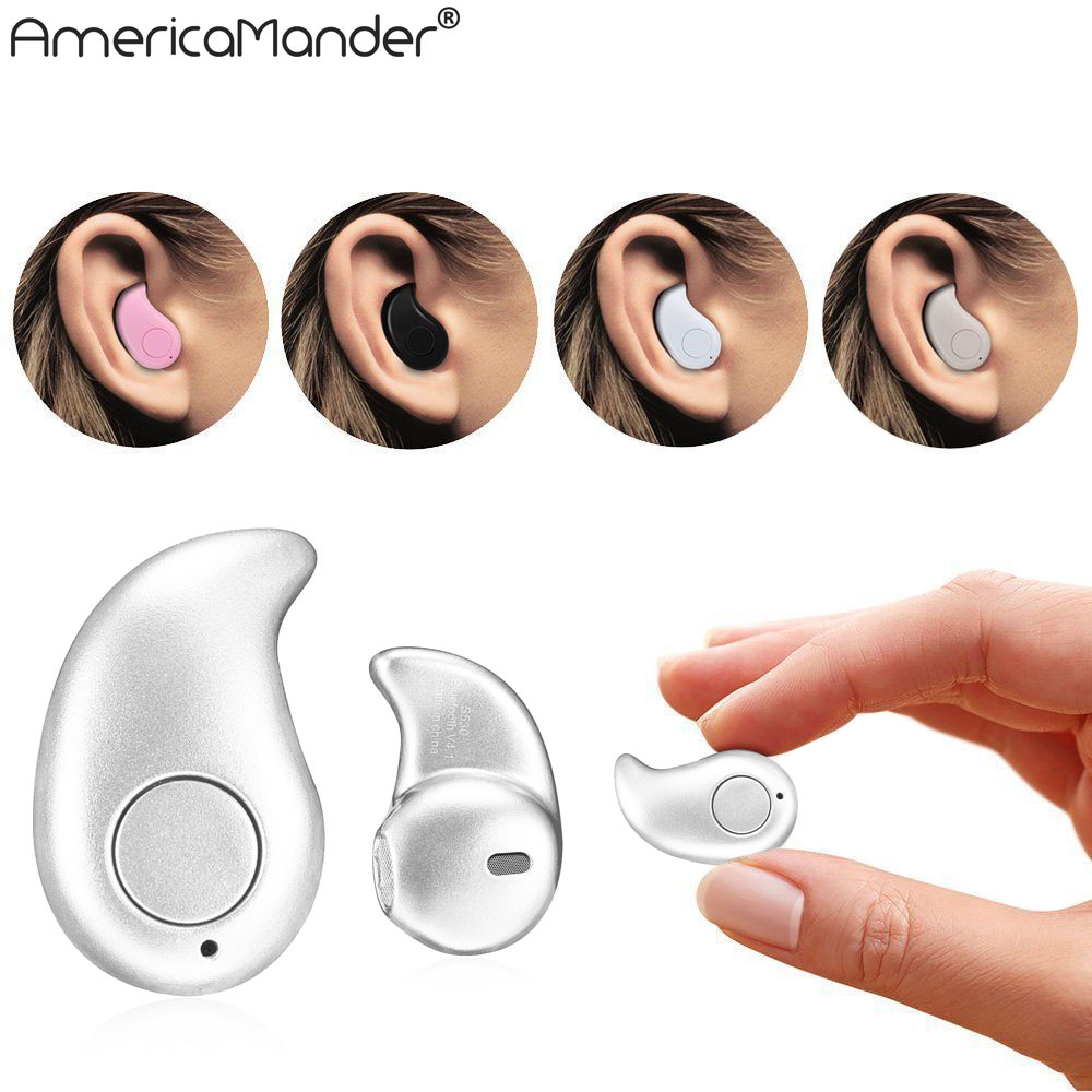 US Mini Style Wireless Bluetooth Earphone Bluetooth Headset S530 V4.1 Sport Headphone Phone With Micro Phone For Iphone Phone PC