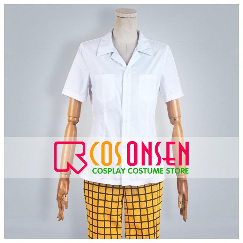 COSPLAYONSEN Yowamushi Pedal Sohoku Summer School Uniform Sakamichi Onoda Cosplay Costume 3 Pcs Any Size