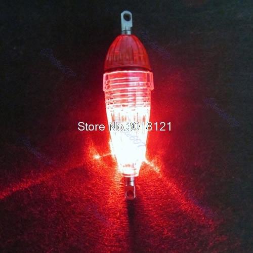 5 Pcs/lot Fishing Accessories LED Mini Deep Drop Underwater Fishing Squid Bait Lure Light Red Flashing