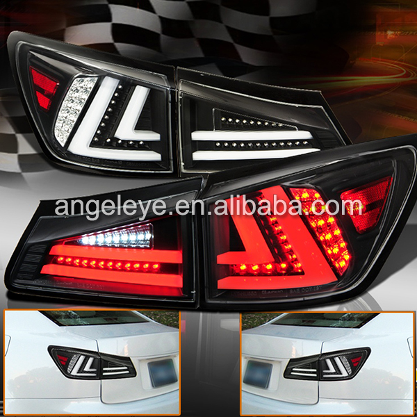 2006 Lexus Is 250 Awd For Sale: Aliexpress.com : Buy For LEXUS IS250 LED Tail Lamp Black