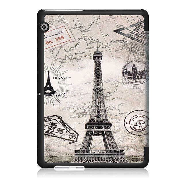 Stylish Tablet Case with Colorful Pattern for Huawei MediaPad