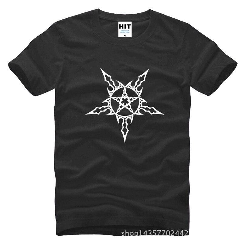 Bovennatuurlijke beschermende symbolen Gedrukte Mens Mannen T-shirt - Herenkleding