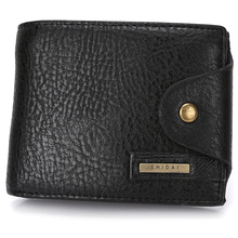 2017 New Slim Genuine Leather Mens Wallet Man Cowhide Cover Coin Purse Small Brand Male Credit&id Multifunctional Walets