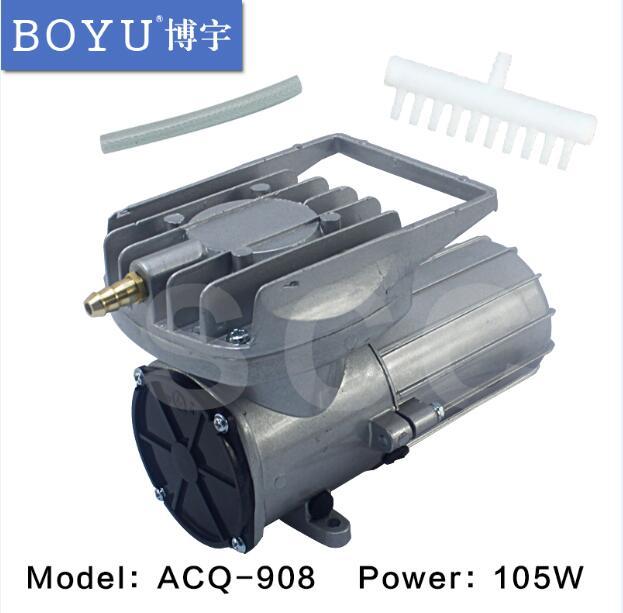 DC 12V 150L min 105W Permanent magnet DC diaphragm Air Compressor Oxygen pump Fish Tank Pond