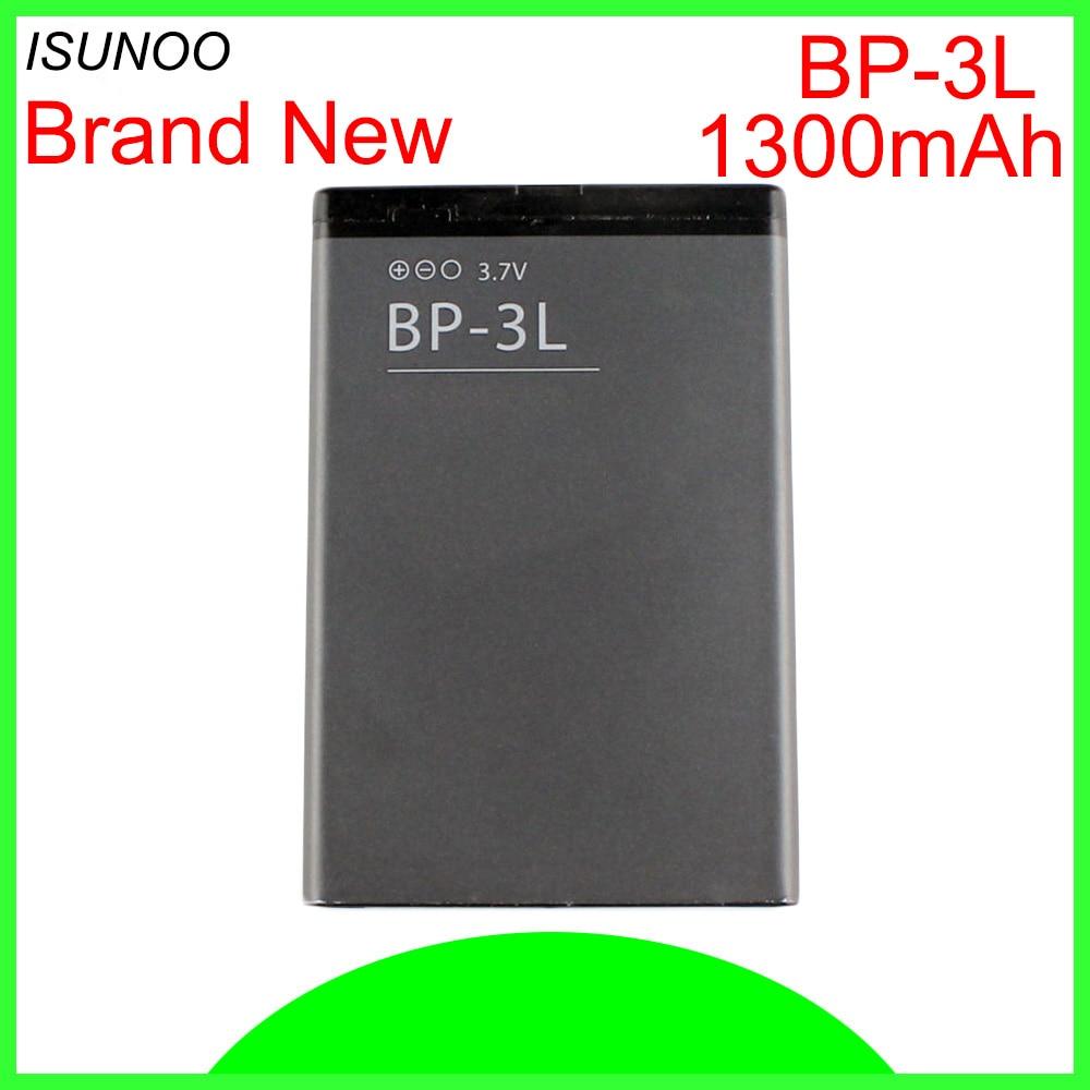 Nokia 1300mAh BP-3L Li-ion Battery Replacement Lumia 710 900 Asha 303 603