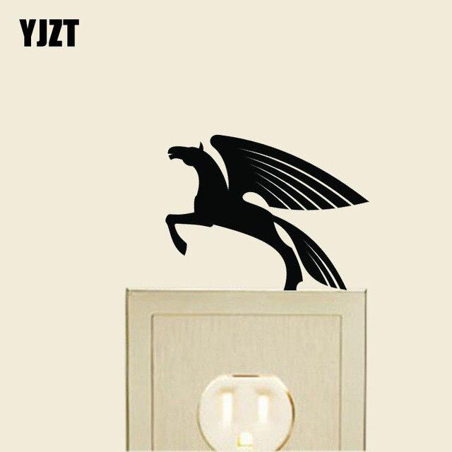 Fliegen Küche | Fliegen Engel Pferd Kuche Cartoon Schonen Vinyl Abziehbild Dekor