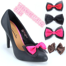2017 New All-match Hand Bow Women Shoes Accessories 10*6CM 1Pic