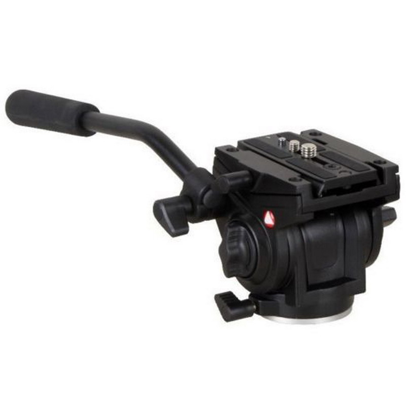 701HDV W/ 501PL QR Plate Pro Fluid Video Lightweight Head for Manfrotto всепогодный чехол manfrotto pro light video camera raincover crc 14