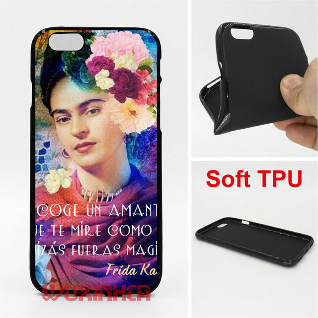 Frase Amor Frida Kahlo Phone Case Soft Tpu For Iphone 6 7 Plus Se 5s