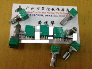 1pcs/lot Audio / amplifier / high-precision 10% double potentiometer RK097G A20K A50K A100K(China)