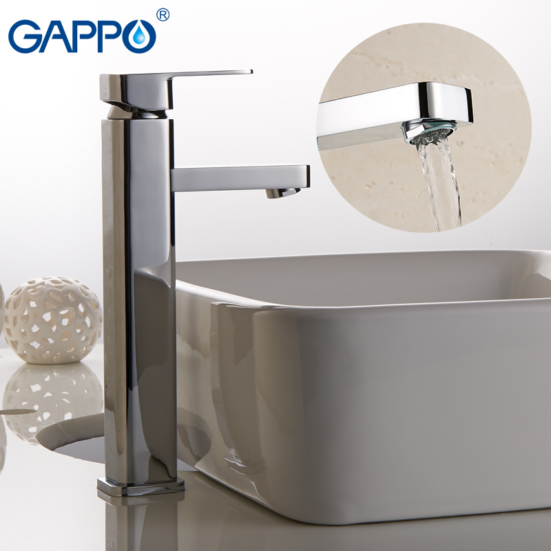 GAPPO Basin Faucets deck mounted waterfall faucet bathroom basin water mixer sink faucet mixer tap griferia fapully bathroom waterfall basin faucet deck mounted automatic hands touch sensor water faucet waterfall sink tap