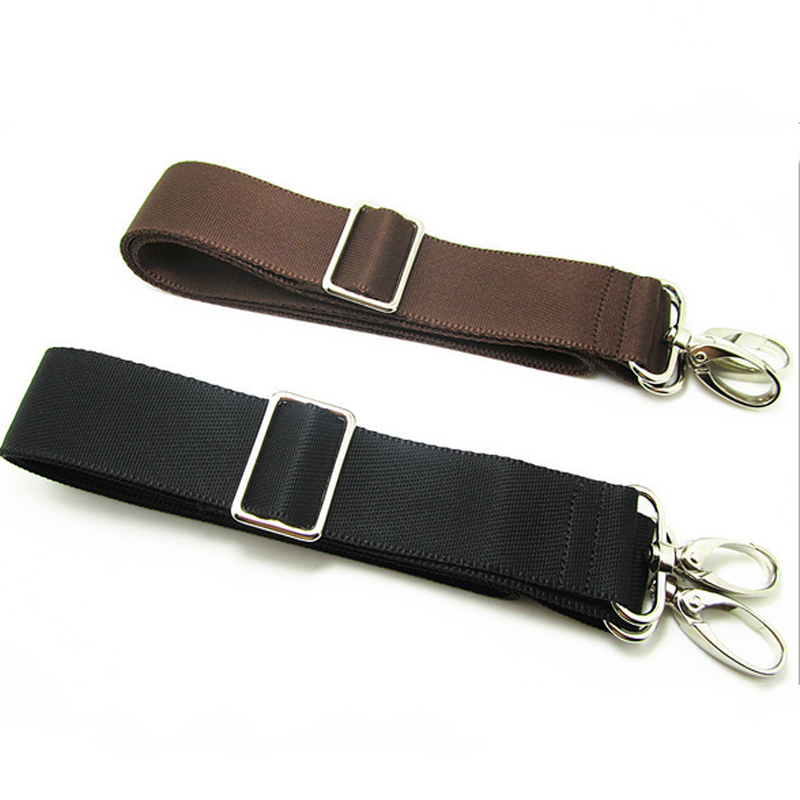 Replacement Shoulder Adjustable Strap For Luggage Messenger Camera Bag Polyester Black Brown Bag Accessories PA879207