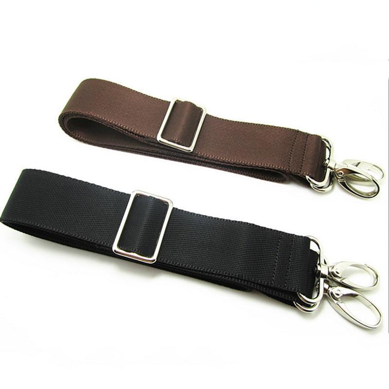 Replacement Shoulder Adjustable Strap For Luggage Messenger Camera Bag Polyester Black Brown Bag Accessories PA879207