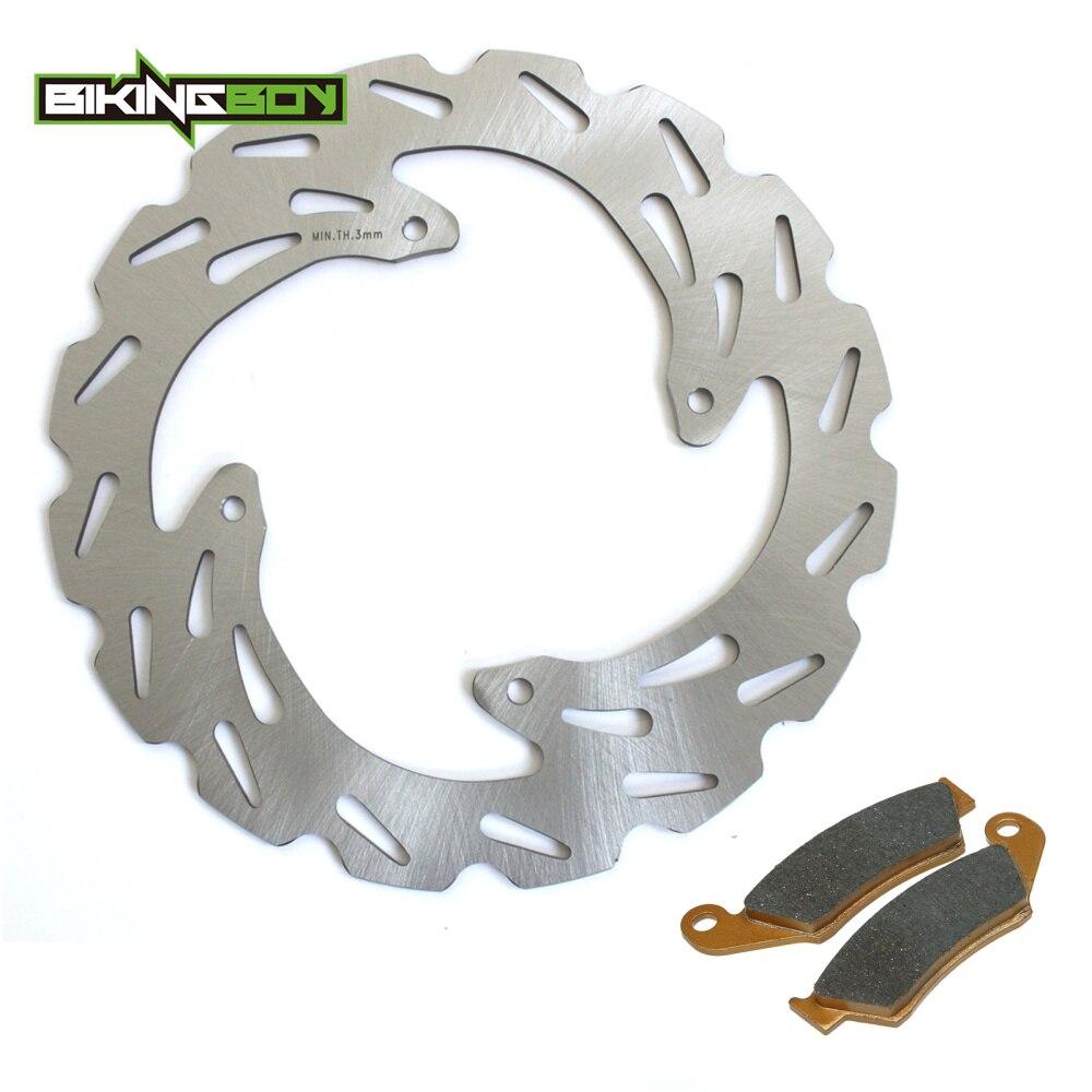 BIKINGBOY MX Front Brake Disc Disk Rotor Pad For Honda CRF 125 250 F 07 14