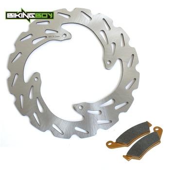 BIKINGBOY MX Front Brake Disc Disk Rotor Pad For Honda CRF 125 250 F 07-14 XR250R 96-04 XR400R 95-05 XR600R 93-99 XR650R 00-07