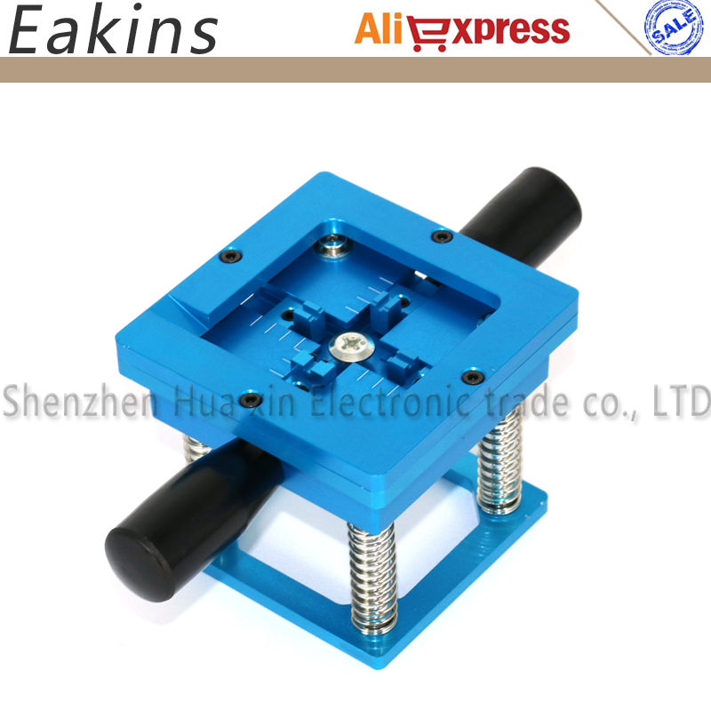 Blue BGA reballing station with hand shank BGA tin fixture for 90*90mm BGA Stencil tms320f28335zjza tms320f28335 bga