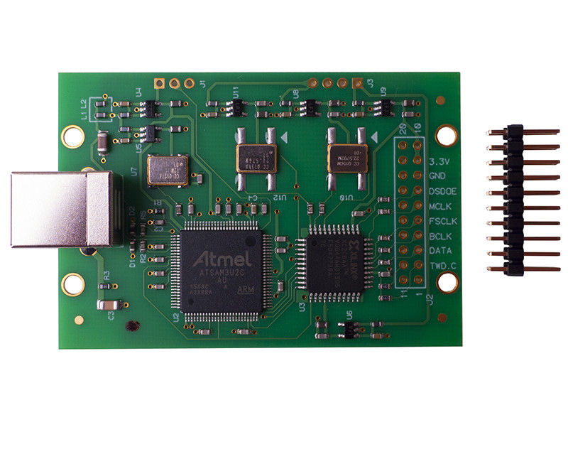 Amanero Combo384 USB DSD512 / PCM384K Module Digital Audio Interface Board