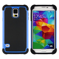 Para samsung s5 caso i9600 g900f g900a heavy duty prueba de golpes duro de silicona cubierta del teléfono para samsung galaxy s5 envío libre