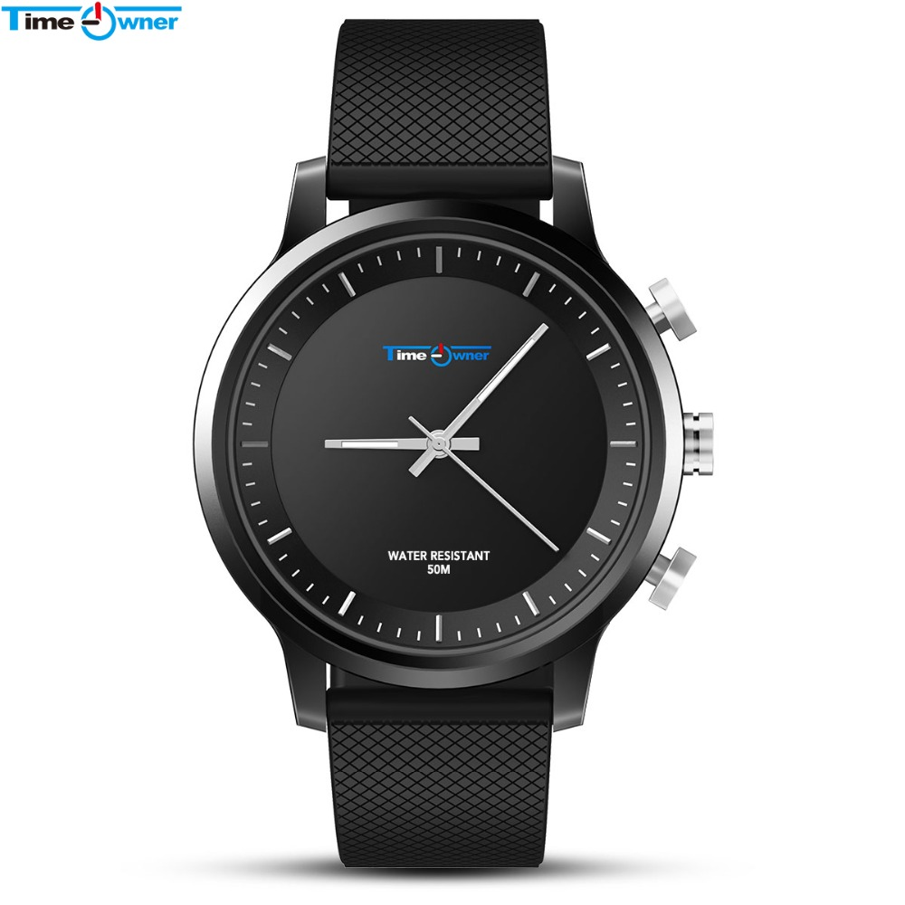 TimeOwner Smart Watch 5ATM Waterproof SOS Share Location 2 Years Standby Pedometer Sleep Monitor Message Remind Smartwatch Men