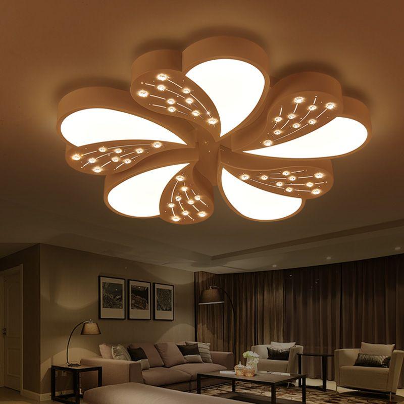 2017 New Design Crystal Chandelier Lighting Fixture Crystal Light Lustres de cristal for Living Room Dinning room Ceiling Lamp