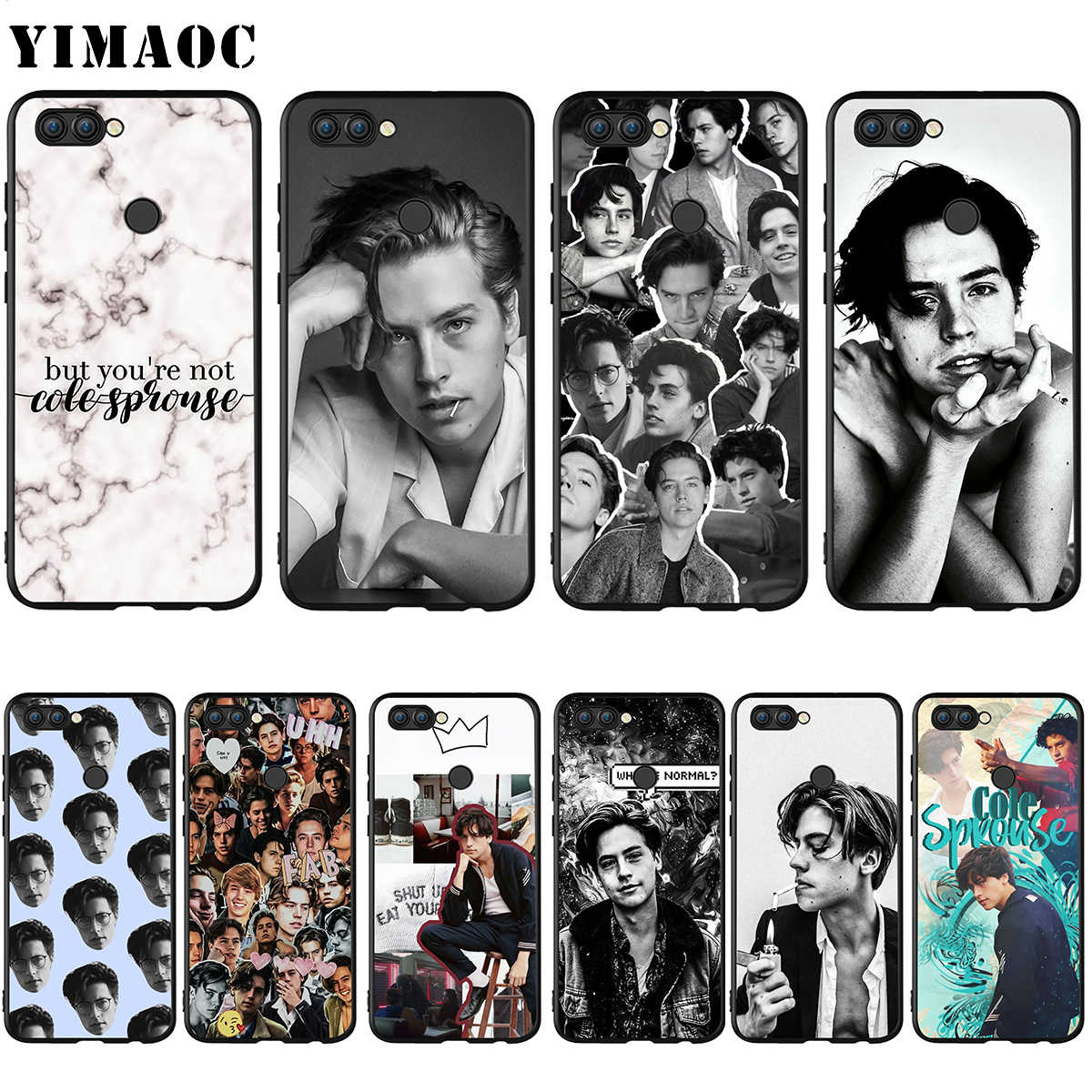YIMAOC Cole Sprouse Silicone Case for Huawei Honor Mate P smart Y7 Y9 8C 20 10 8x Nova 3i 3 Lite Pro Prime 2018 2019