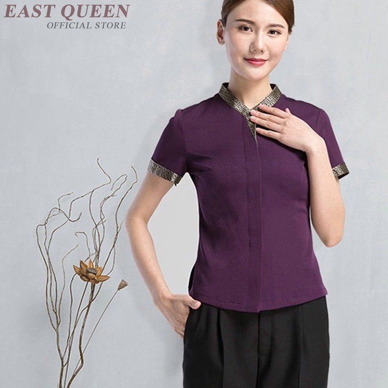 Housekeeping Uniforms Hotel Supplies Maid Hotel Cleaner Uniform Workwear Cleaning Service Uniform Waitress Clothing DD913